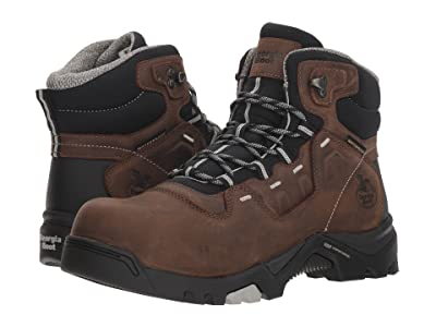 Georgia Boot Amplitude 5 Comp Toe Waterproof (Brown) Men
