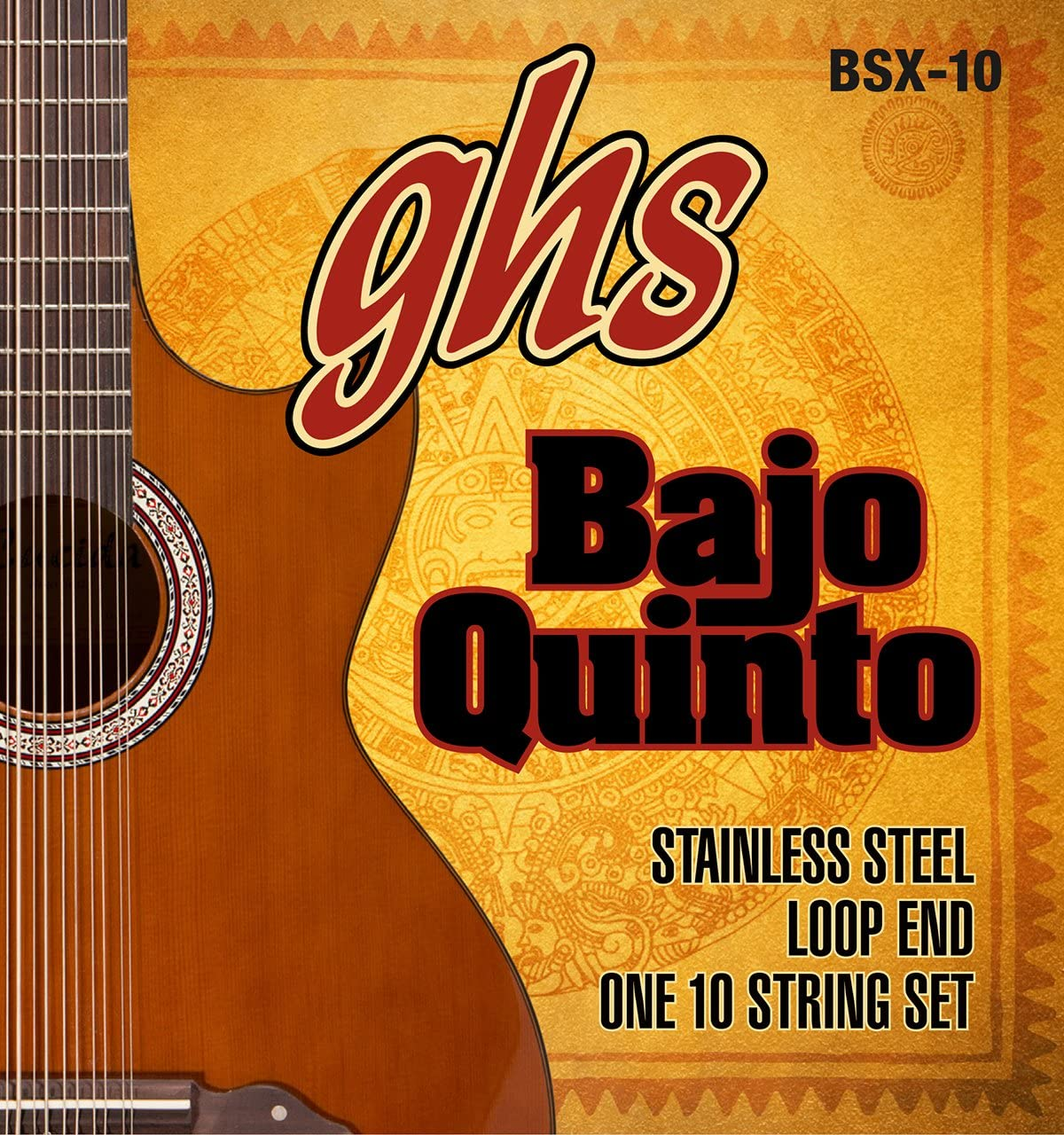 GHS Strings STAINLESS OFFicial shop STEEL BAJO Loop Fees free End QUINTO -