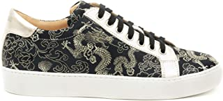 A Long Sneakers Black & Gold