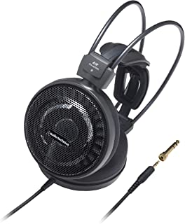 Audio Technica ATH-AD700X Audiophile Open-Air Over-Ear Headphones Lightweight (Black)