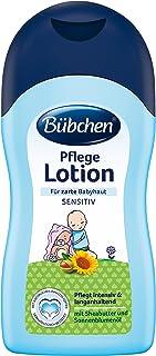 Bübchen Pflege Lotion, sensitive Körperlotion für zarte Babyhaut, mit Sheabutter und Sonnenblumenöl, Menge: 1 x 400 ml