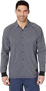 [adidas(アディダス)] メンズタンクトップ・Tシャツ Adicross Beyond18 Stretch Woven Oxford Shirt Carbon L [並行輸入品]
