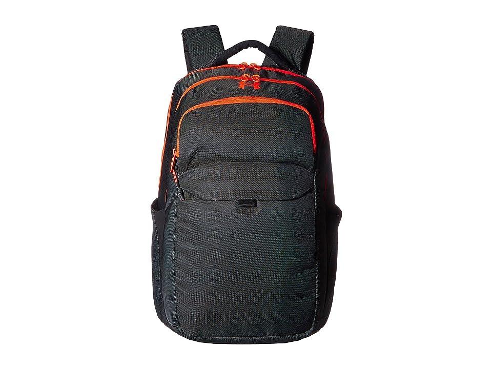 Under Armour UA On Balance Backpack (Black/Marathon Red/Marathon Red) Backpack Bags