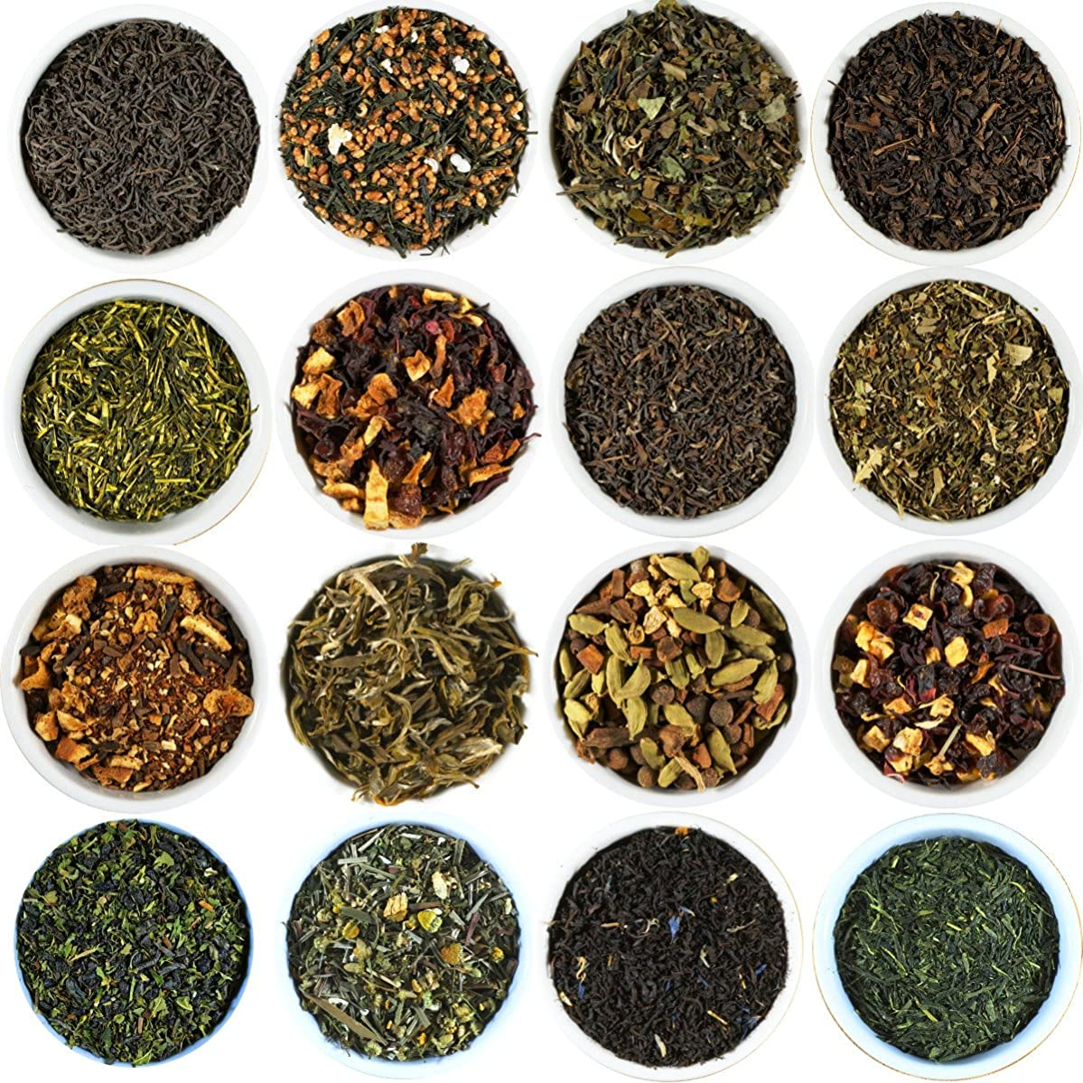 Jasmine Green Tea Sampler. Choose From 68 Varieties Of Loose Leaf Tea. Gourmet Tea Sampler Makes 3-5 Servings. Beantown Tea & Spices Brand. (Jasmine 1st Grade Green Tea)