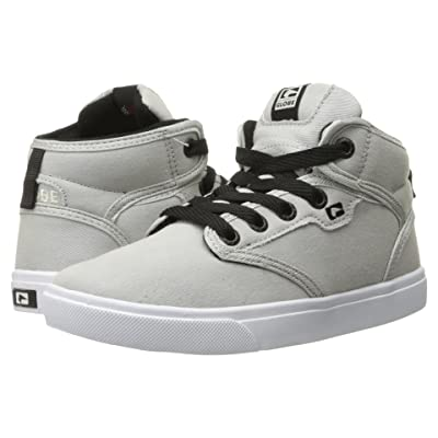 Globe Motley Mid (Little Kid/Big Kid) (Light Grey) Men