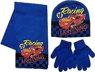 Disney Cars Lightning McQueen acryl wintermuts sjaal en handschoenen Set