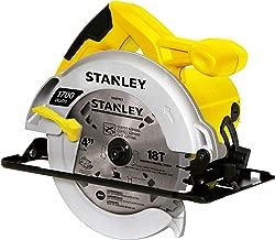"Stanley STSC1718-B2, Serra Circular 1.700W, Amarelo/Preto, 7-1/4"""