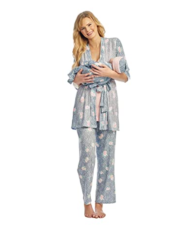 Everly Grey Analise Maternity/Nursing Mommy Me Five-Piece PJ Set (Jungle Floral) Women