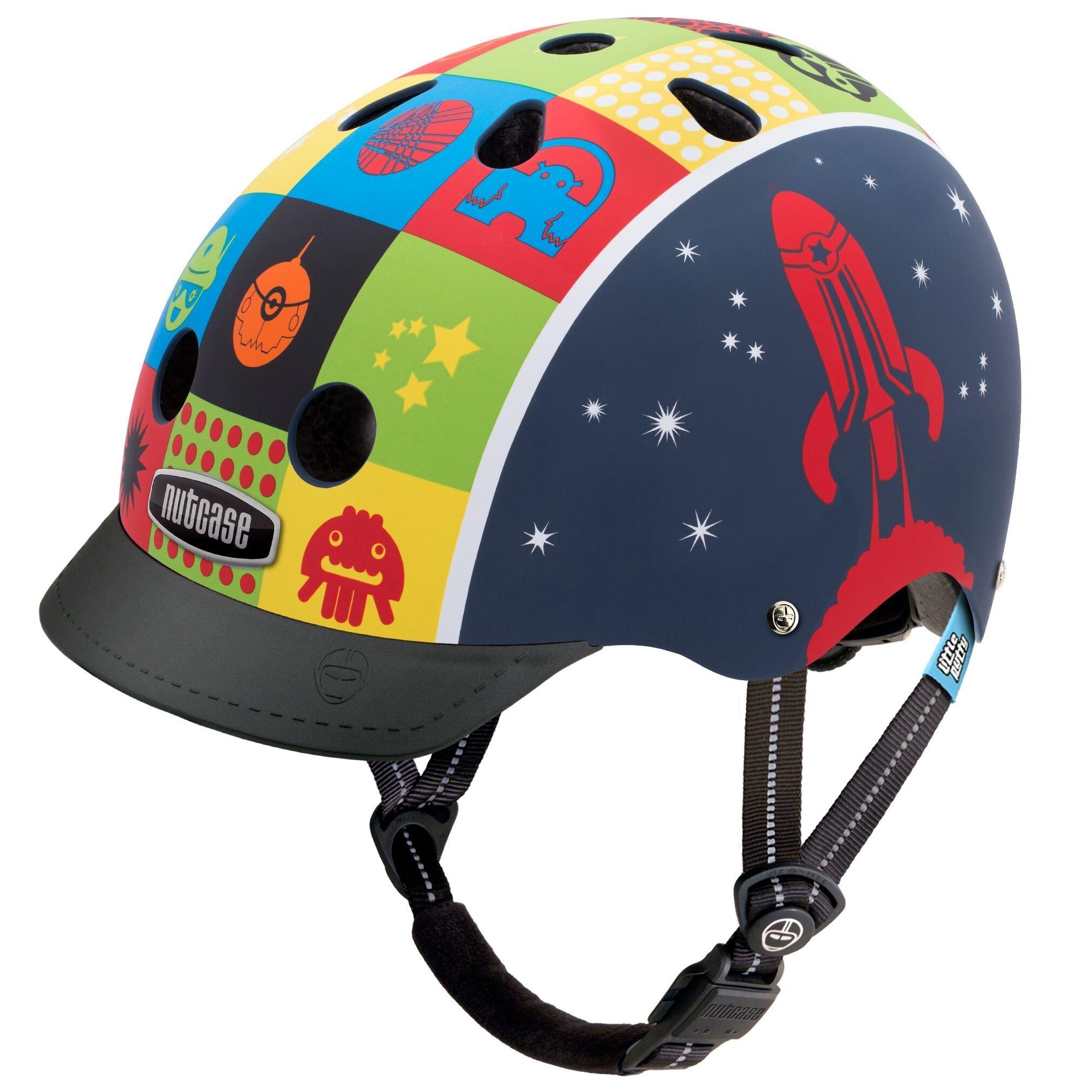 Nutcase - Little Nutty, Casco de bicicleta para niños, Space Cadet ...