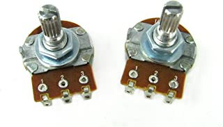 6-pack 1MOhm (1000KOhm) Bourns Audio-Taper Potentiometer - for Guitar Volume controls & more
