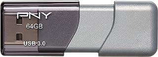 PNY 64GB Turbo Attaché 3 USB 3.0 Flash Drive - (P-FD64GTBOP