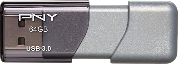 PNY 64GB Turbo Attaché 3 USB 3.0 Flash Drive - (P-FD64GTBOP-GE)