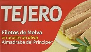 Tejero - Conserva de pescado | Melva de Almadraba en Aceite de Oliva - 5 Latas x 120 g