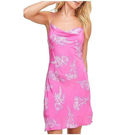 ASTR the Label Dancing Queen Dress (Azalea Pink Floral) Women