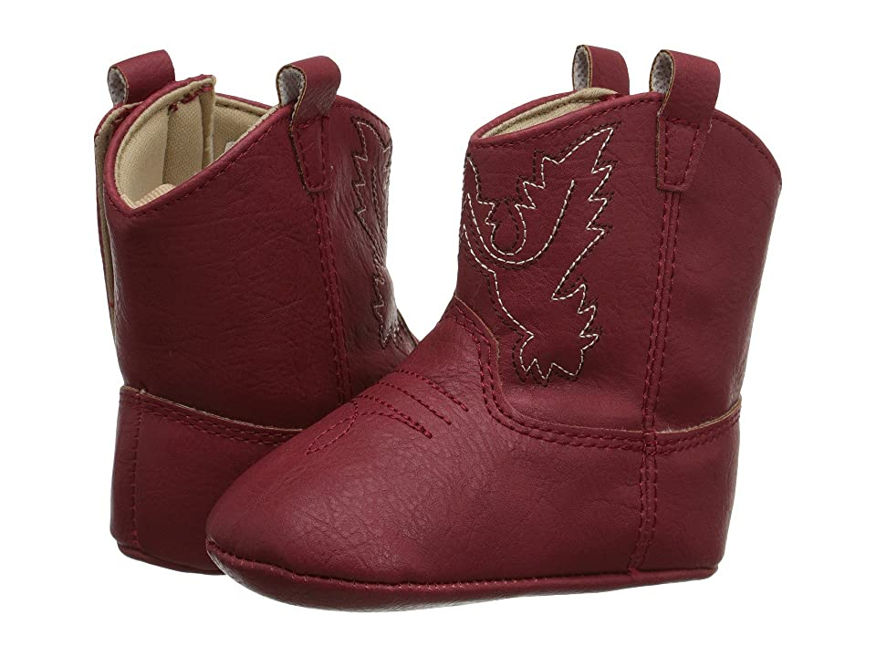 Baby Deer Western Boot (Infant) (Red) Cowboy Boots