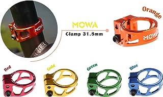 MOWA 自転車 軽量 中空 シートポスト クランプ シートクランプ 31.8mm / 34.9mm CNC AL7075 アルミ合金 MTB クランプ ロードバイク マウンテンバイク シートポスト 6色2サイズ選べる