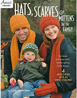 Annies 871757 Hats Scarves & Mittens Family