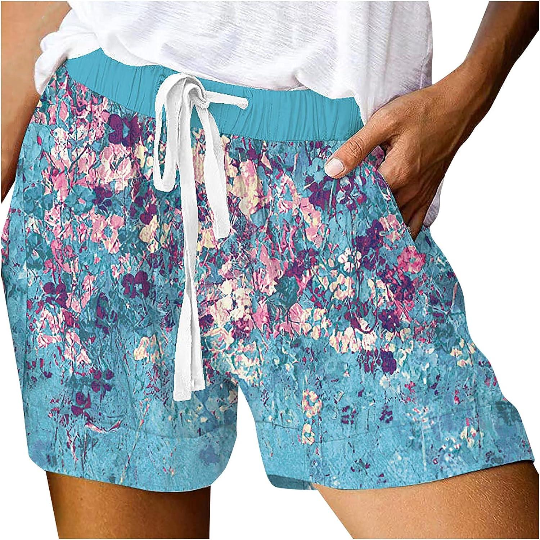 Women's Ragged Tassel Distressed Stretchy Denim Jean Shorts Stretchy Folded Hem Hot Short Jeans High Waisted Denim
