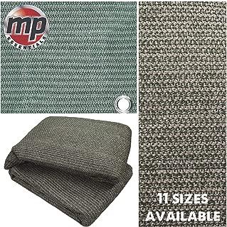 MP Essentials: carpa para el suelo hecha de tela resistente a la intemperie y a la putrefacción, verde y gris