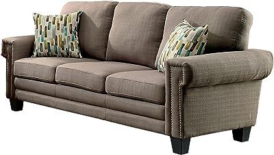 Wondrous Amazon Com Simmons Upholstery Outback Loveseat Chocolate Customarchery Wood Chair Design Ideas Customarcherynet