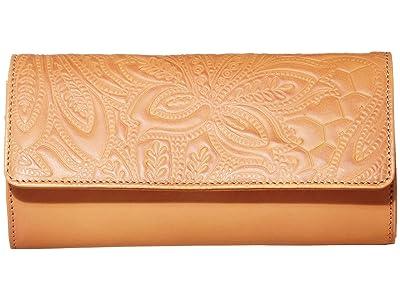 Lucky Brand Lina Convertible Wallet (Vachetta) Handbags