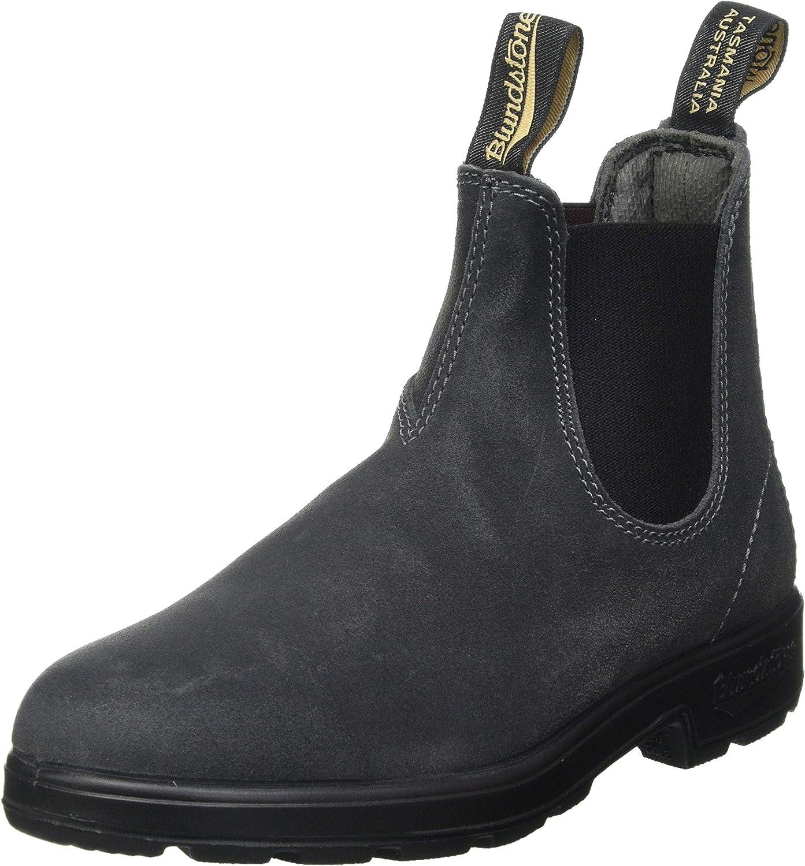 Blundstone Unisex Suede Original Chelsea Grey Max 60% OFF Selling rankings 1910 Boot Steel