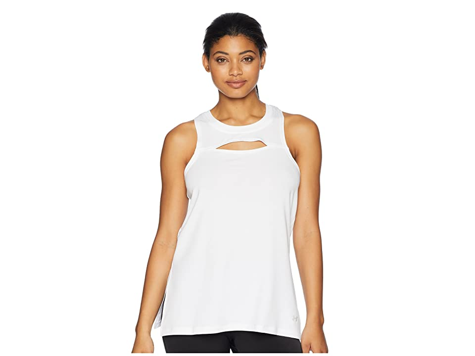 Under Armour Modal Terry Tunic (White/Tonal) Women