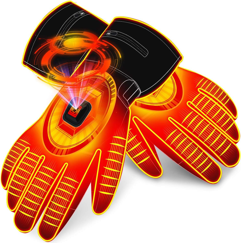 SNOW SOCK Electric Columbus Mall Battery Heated Touchscre Gloves Men for Women Alternative dealer