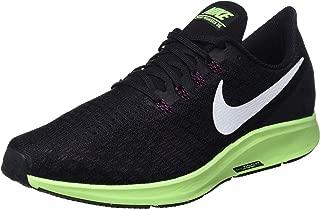 Nike Men's Air Zoom Pegasus 35 Running Shoe Black/White/Burgandy Ash/Lime Blast Size 10.5 M US