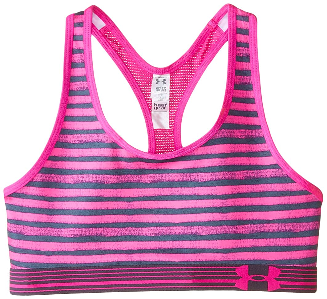 Under Armour Youth Girls Printed Mesh Bra