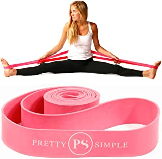 Ballet Stretch Band for Dance, Gymnastics, Cheerleading, Pilates. Improves Elastic Flexibility and Enhances Daily Stretching - Designed by PS Athletic for Use in 2019