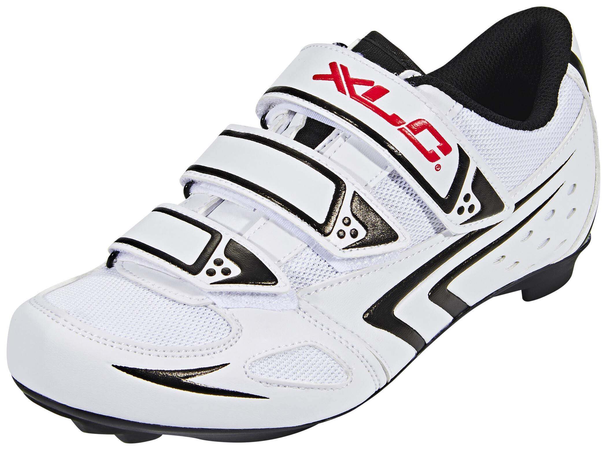 XLC Herren CB-R04 Radsportschuhe, Weiß (Weiß Weiß), 46 EU