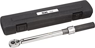 SK Hand Tool 77100 Micrometer Adjustable Torque Wrench, 3/8
