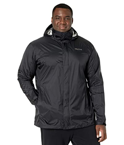 Marmot Big Tall PreCip(c) Eco Jacket (Black) Men