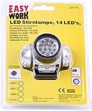Hoofdlamp/hoofdlamp met 14 leds – zeer heldere en brede lichtbundel – instelbare elastische hoofdband.