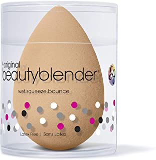 BEAUTYBLENDER Nude Makeup Sponge for a Flawless Natural Look, Perfect with Foundations, Powders &...