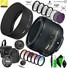 Nikon AF-S NIKKOR 50mm f/1.8G Lens with Accessory Kit with Creative Filter Kit and Pro Cleaning Accessories