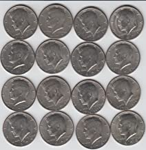 Kennedy Half Dollars 1971 Thru 1979-16 different Coins Total, includes P & D mints (Note) There was none minted with date 1975