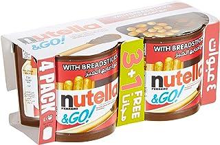 Nutella & Go Breadstick 208g Pack of 3+1