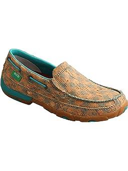 Women's Slip Resistant Tan Loafers +