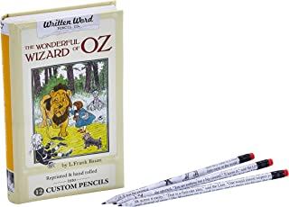 Written Word Pencil Co. Classic Story Pencils, 12 Pack, Wizard of Oz