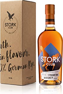 STORK CLUB Straight Rye Whiskey 45% vol. 1 x 0,7 l
