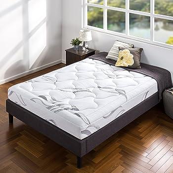 Zinus 8 Inch Cloud Memory Foam Mattress / Pressure Relieving / Bed-in-a-Box / OEKO-TEX and CertiPUR-US Certified, King