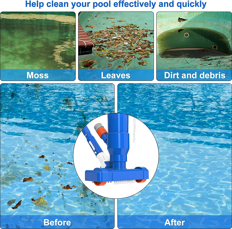 Handheld Pool Vacuums No Included Pond Spa ALVAR Upgraded Pool ...