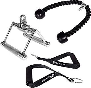 Cable Machine Attachments for Gym - Lat Pulldown...