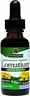 Nature's Answer Alcohol-Free Lomatium Root, 1-Fluid Ounce