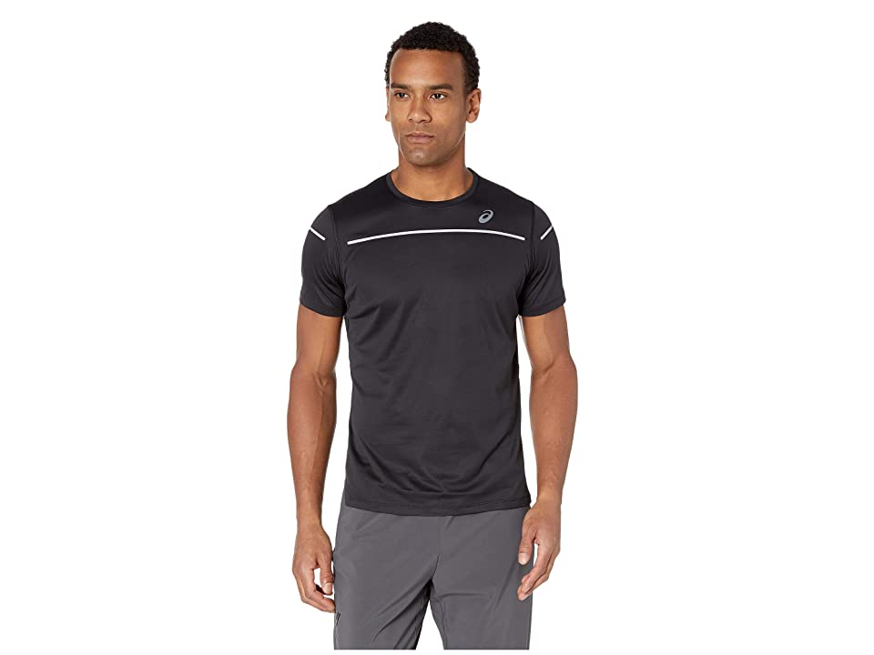 Image of ASICS Lite-Show Short Sleeve Top (Performance Black) Men's Clothing