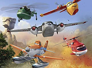 Ravensburger Disney Planes Fire & Rescue: Fighting The Fire - 100 Piece Jigsaw Puzzle for Kids – Every Piece is Unique, Pieces Fit Together Perfectly