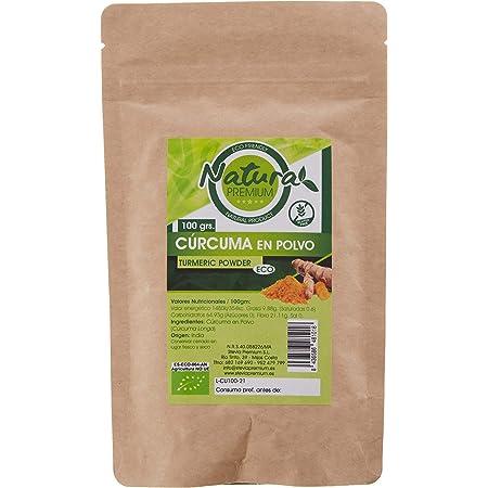 Natura Premium Curcuma En Polvo 100 Grs Bio 100 g