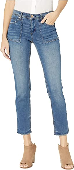 Lover Crop Jeans in Blue